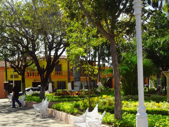 Concordia's main plaza