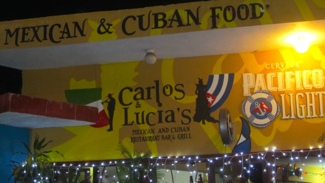 Carlos & Lucia's is a favorite restaurant