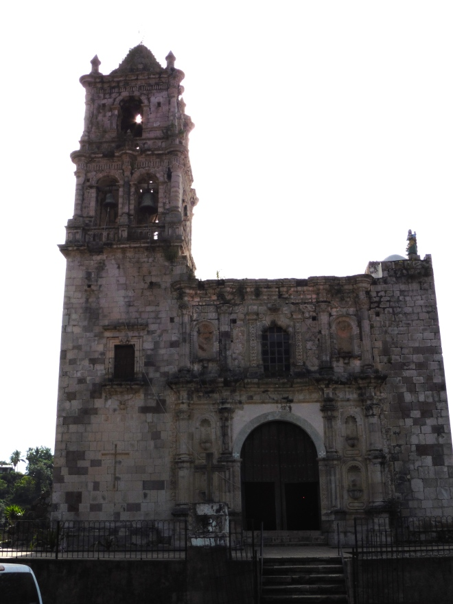 Church in Copala, Mexico