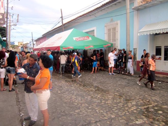 Festival in Trinidad, Cuba