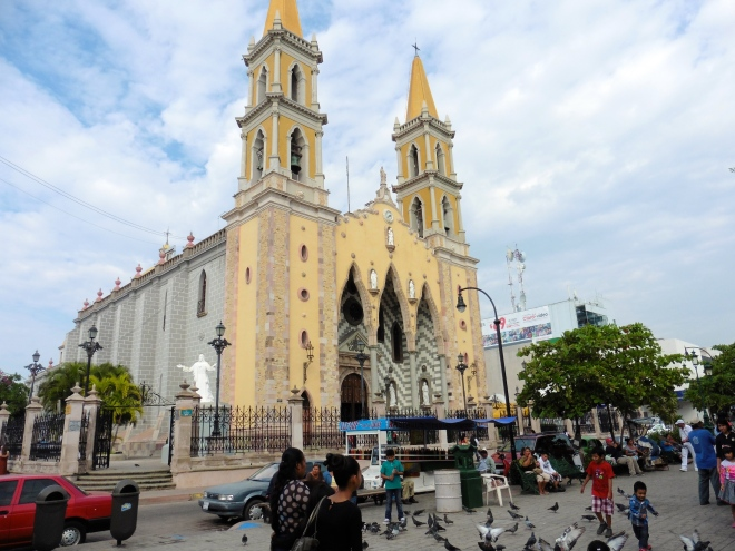 Main cathedral in Mazatlan, Mexico