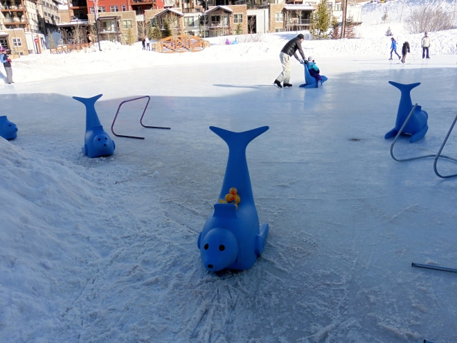 To help new skaters keep they balance, or ride