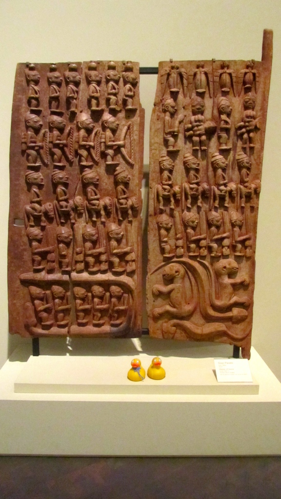 Beautifully carved door panels