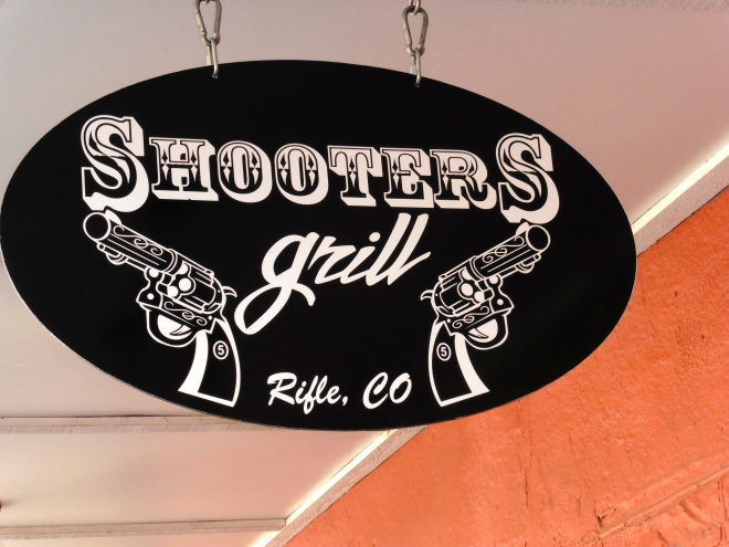 Shooters Grill in Rifle, Colorado