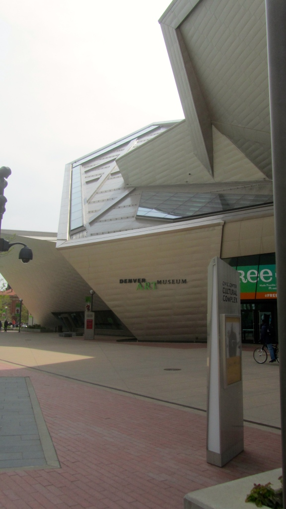 Let's go to the Denver Art Museum