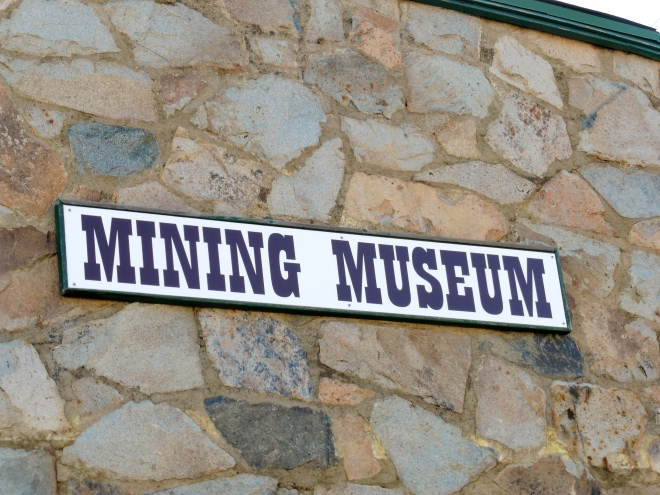 Mining Museum in Nederland.  Colorado has many mining museums