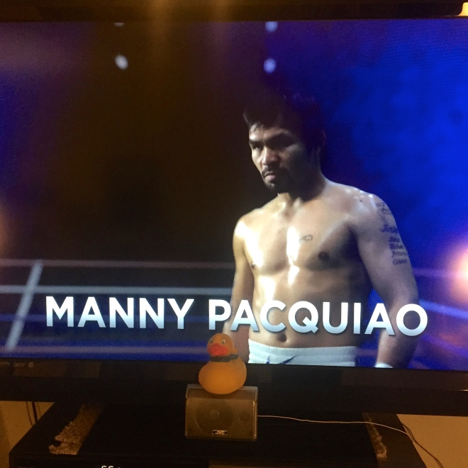 Here is Manny