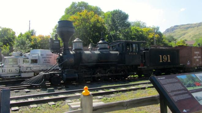 191.   Large steam locomotive