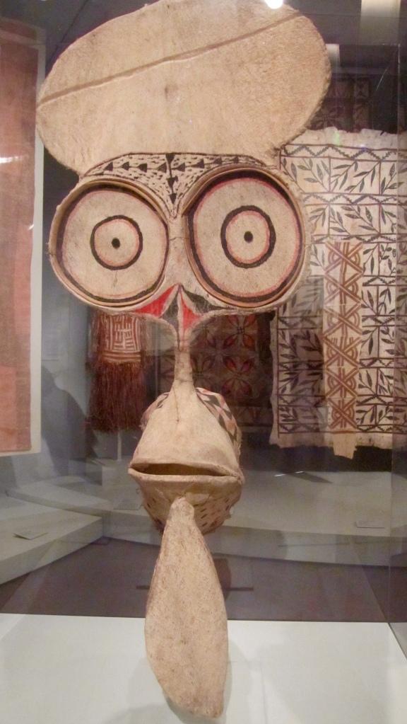Huge eyes on dance mask