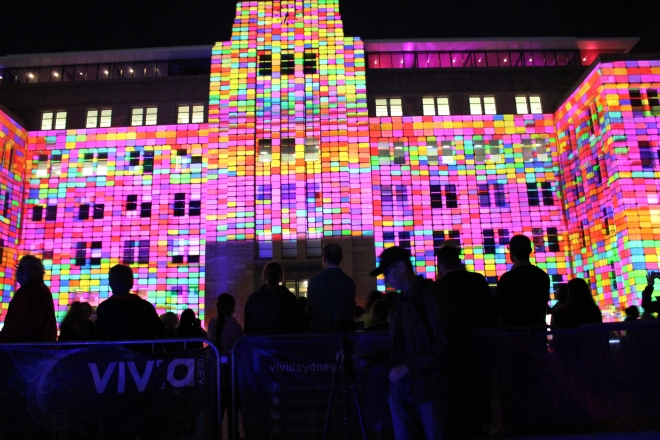 Lights for Vivid Sydney