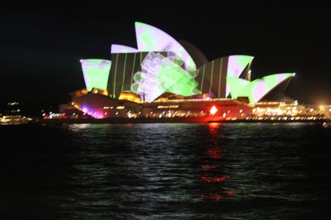 Opera House Vivid Sydney 2015