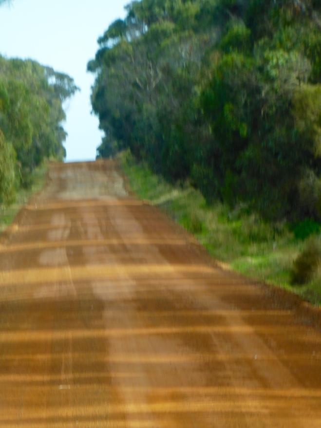 Red dirt on Kangaroo Island