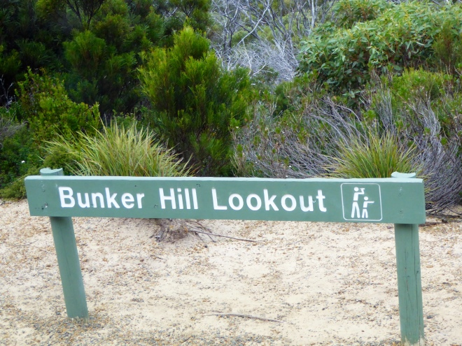 To Bunker Hill Lookout