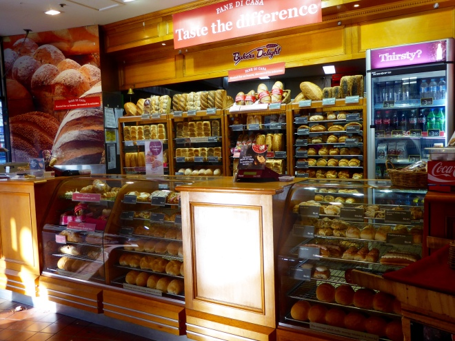 Aroma of bakery draws us closer