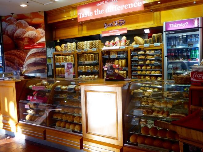 Aroma of bakery draws us closer