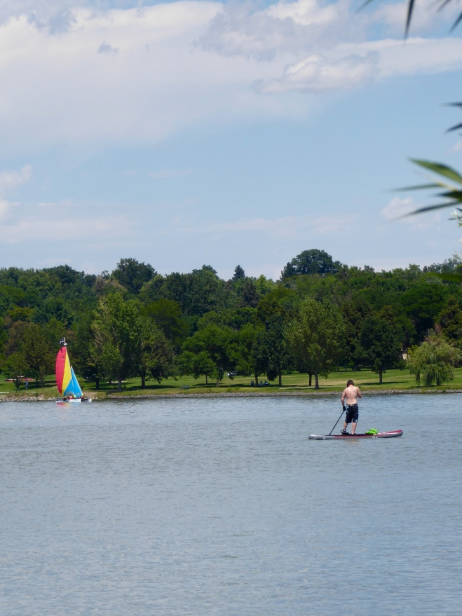 Water sports at Sloan's Lake