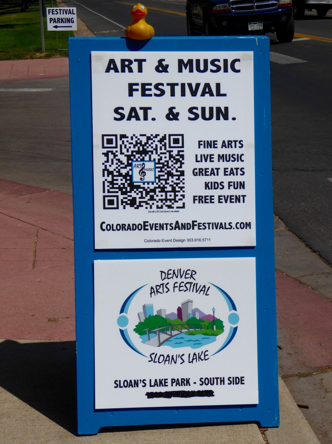 Here we are at the Art & Music Festival
