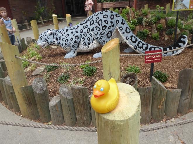 Lego Snow Leopard