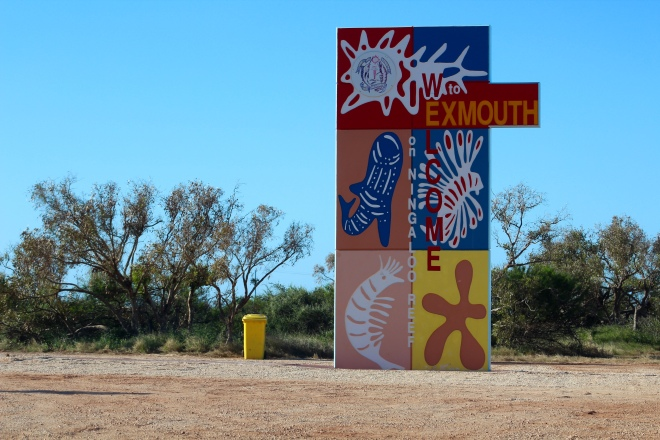 We are in Exmouth, Western Australia