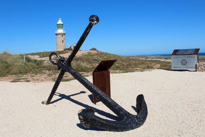 Anchor from SS Mildura ship