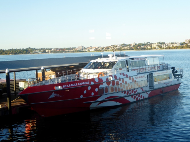 Ferry between Perth, Fremantle and Rottnest Island