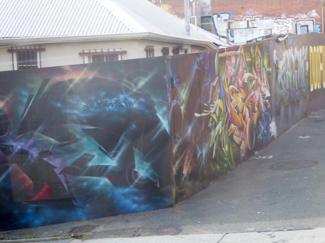 Street mural in Perth