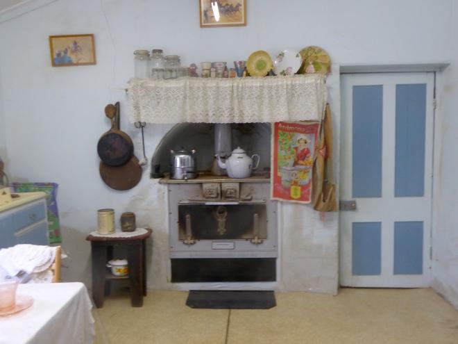 Kitchen. This stove still works.