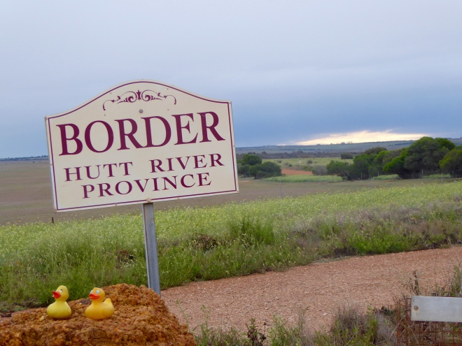 Entering Hutt River Province