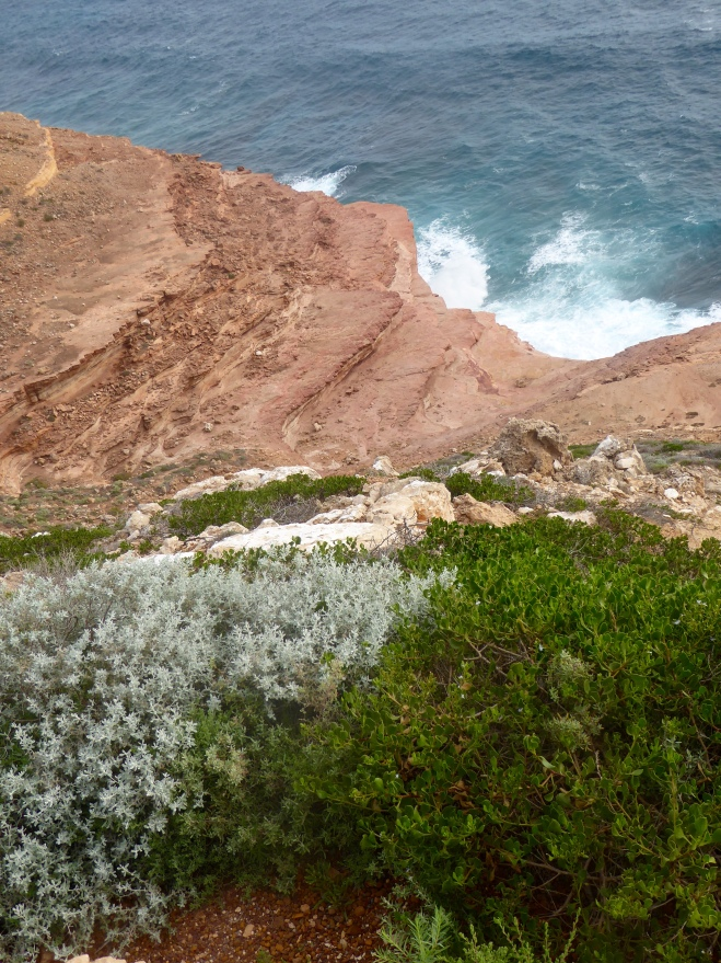 From Grandstand Lookout in Kalbarri National Park