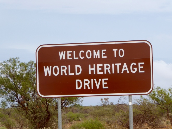 World Heritage Drive is quite long