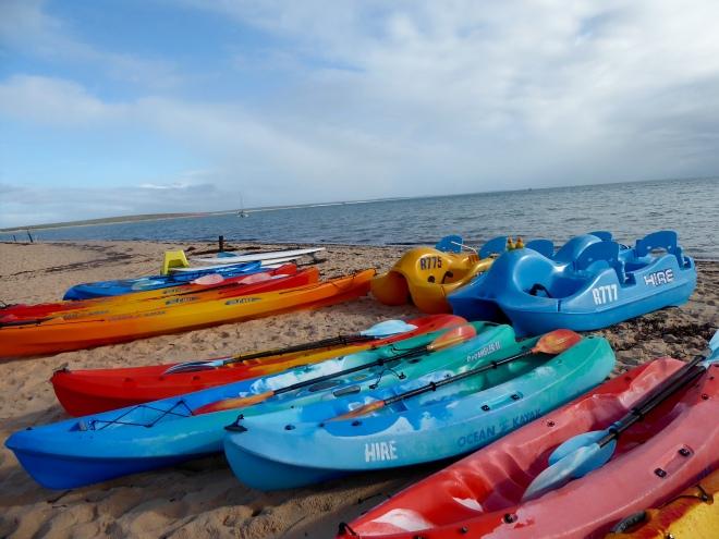Let's get a kayak