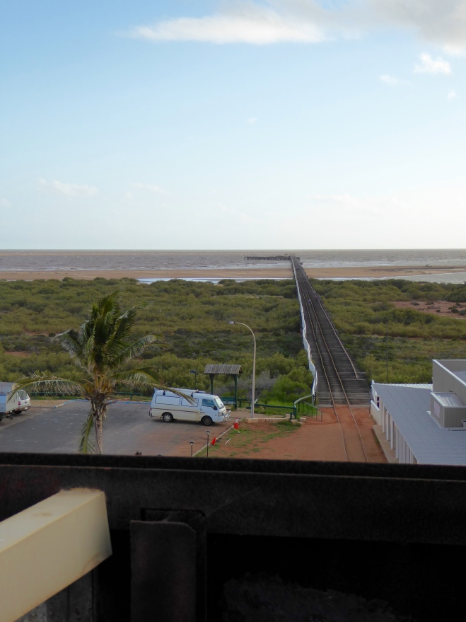 Indian Ocean from Water tower lookout