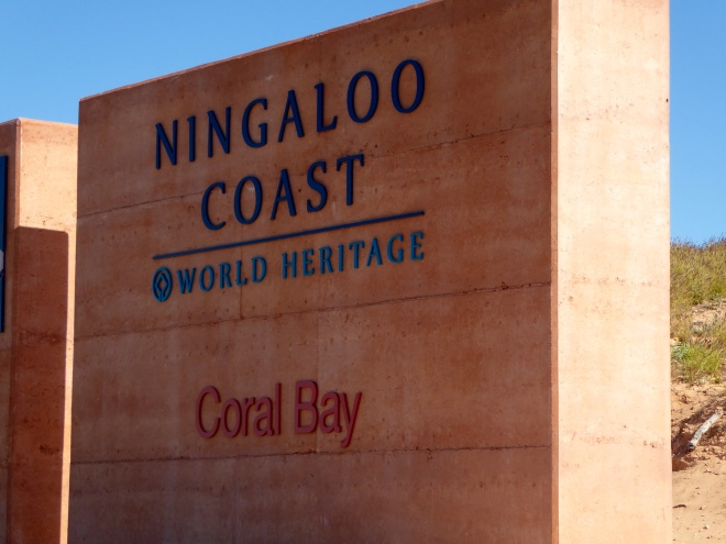 We are here on the Ningaloo Coast