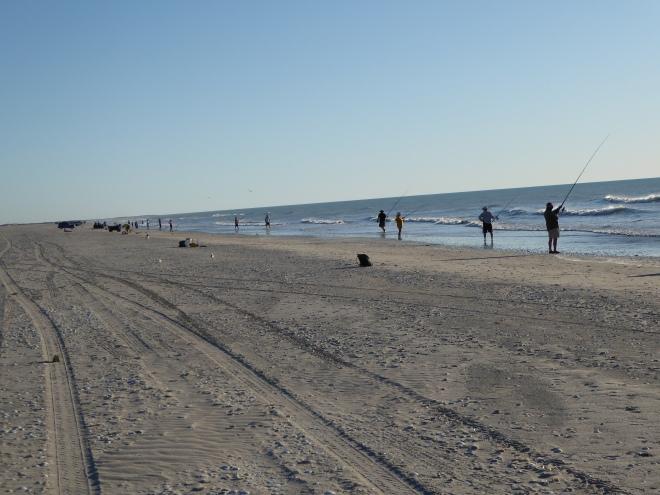 Fishing on Eighty Mile Beach