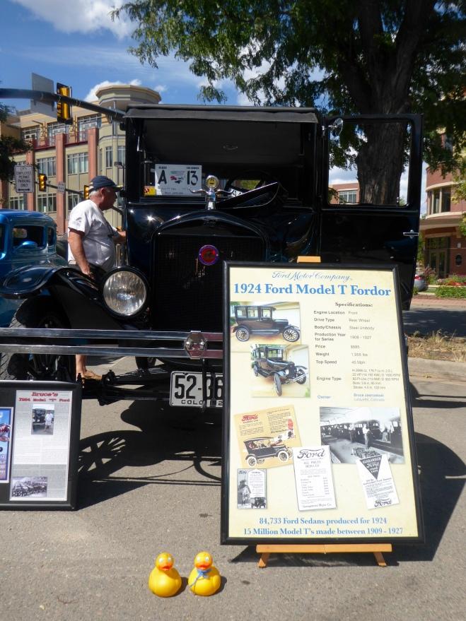 1924 Ford Model T Fordor