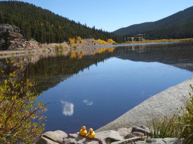 Echo Lake with reflection