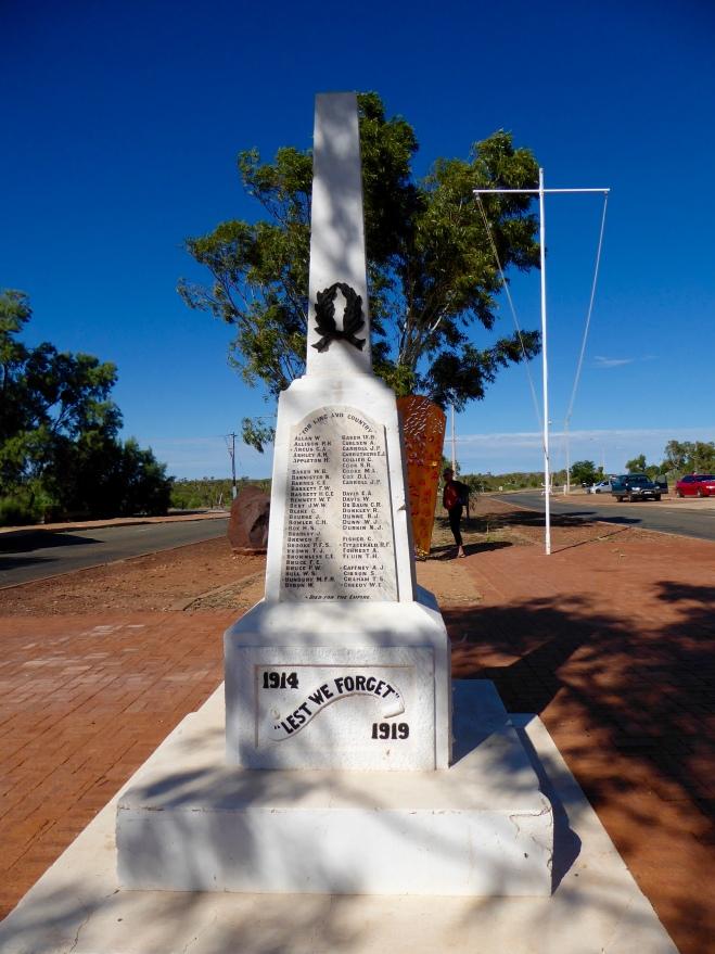 Honoring World War I Veterans at Roebuck