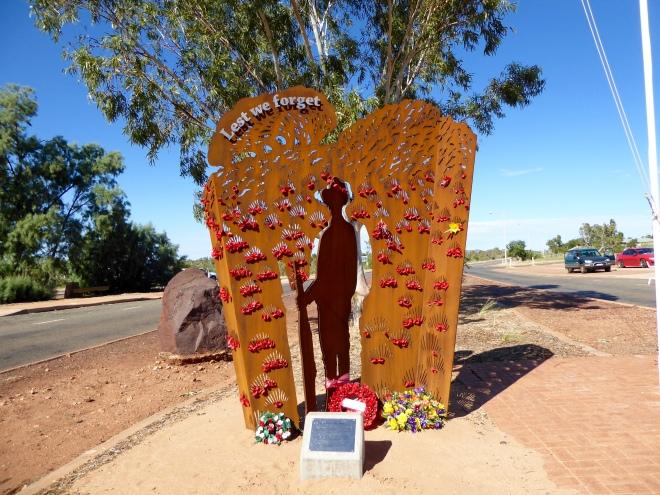 Honoring all veterans. Roebuck, Western Australia