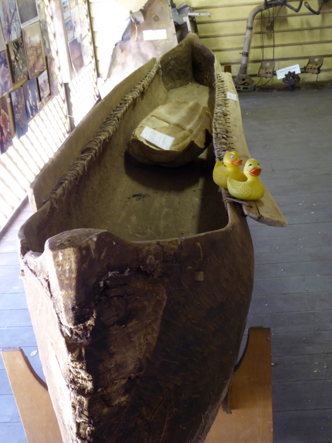 Canoe from Sunday Island found in marsh area near Derby