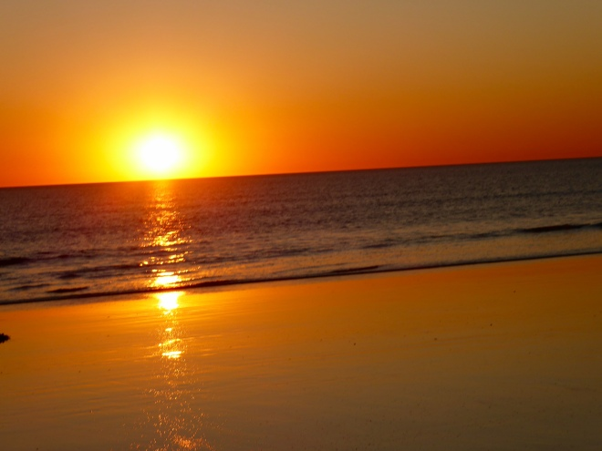 Another perfect sunset on Cable Beach