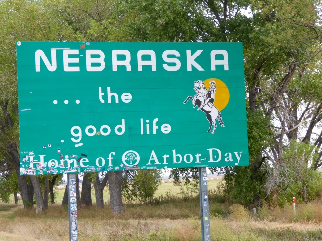 We are in Nebraska