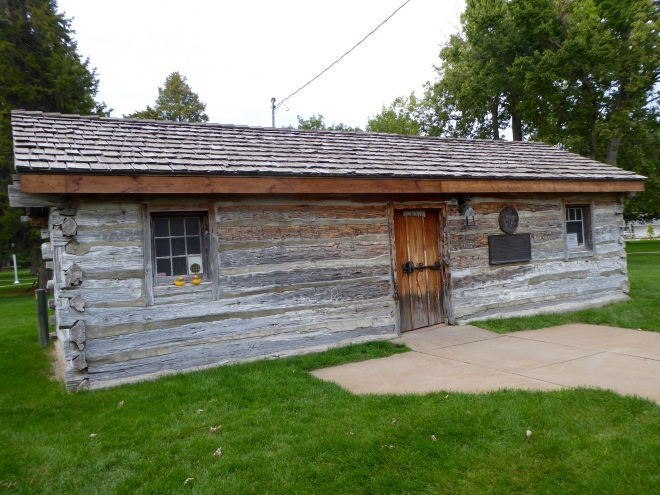 Original Pony Express Station in Gothenburg, Nebraska