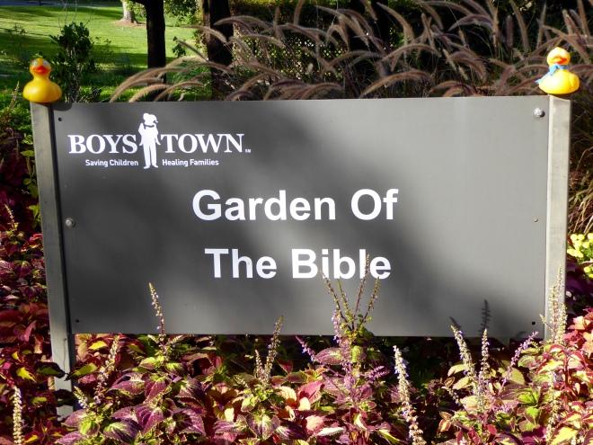 Restful garden