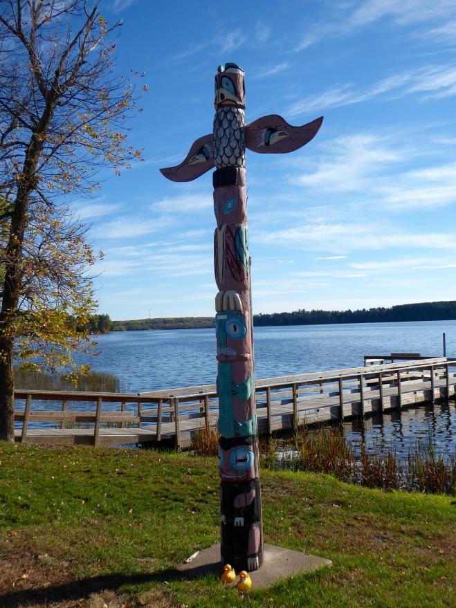 We like totem poles
