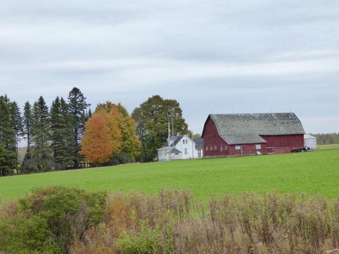 Pretty Wisconsin farm