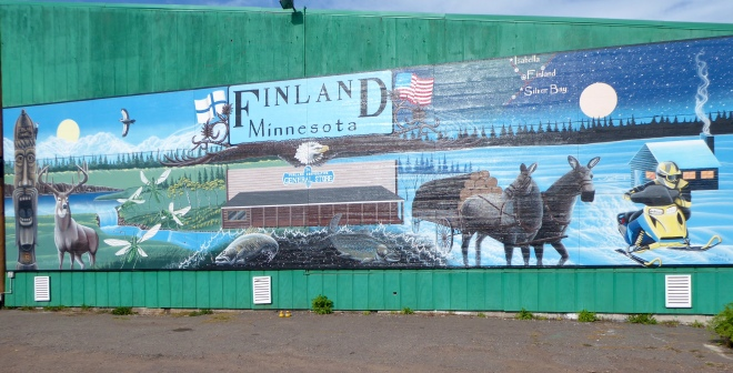 Finland, Minnesota. Winter fun!