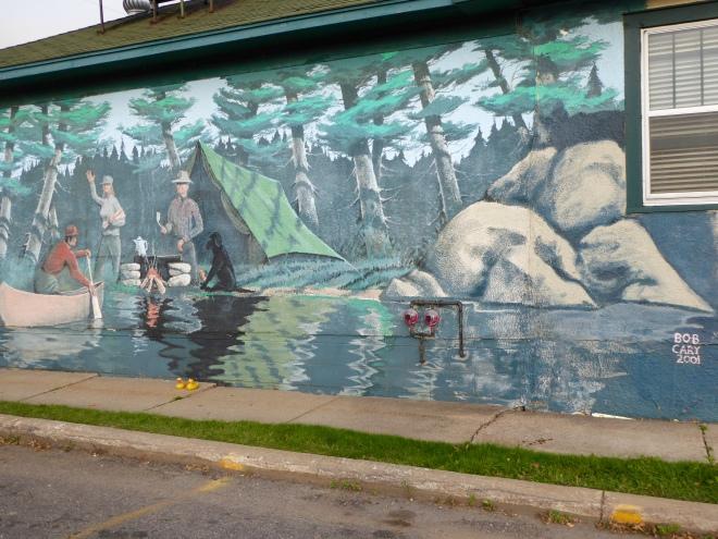Mural in Ely, Minnesota