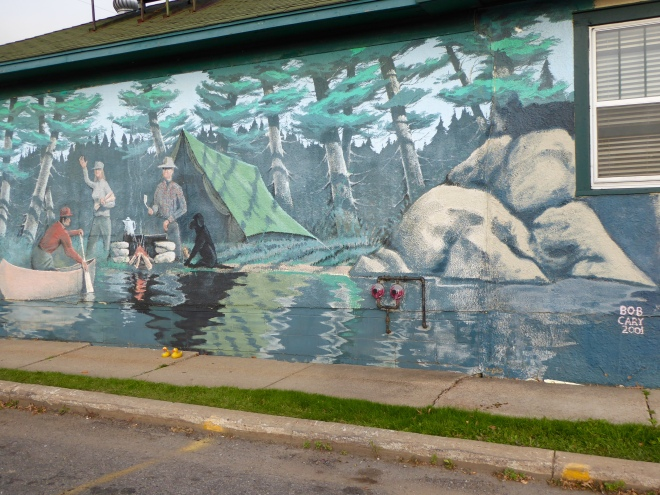 Mural in Ely, Minnesota