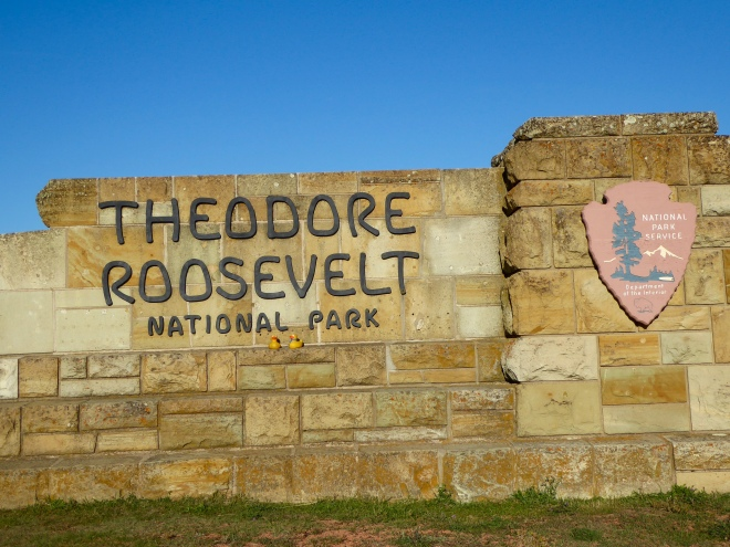 Welcome to Theodore Roosevelt National Park in western North Dakota