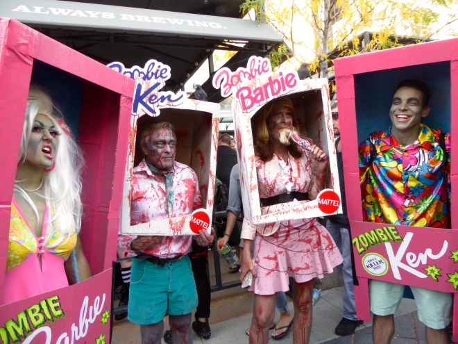 Ken and Barbie are zombies?